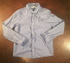 Boys H &M Long Sleeve Button Down Skull Print Size 7/8