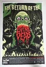 THE RETURN OF THE LIVING DEAD MONDO POSTER BY ERIC TAN LIMITED EDITION EDITION