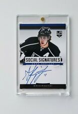 Anze Kopitar Social Signatures Auto On Card Autograph L.A. Kings >WE TAKE OFFERS