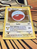 Pokemon Electrode Holo Rare Jungle LP 2/64