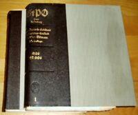 StPO Löwe Rosenberg 20. Auflage 1956 Band 2 Halbleder Strafprozessordnung 1950