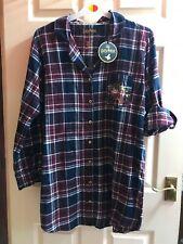 BNWT Harry Potter Nuisette M//L Tailles Plaid coton or Hogwarts Crest