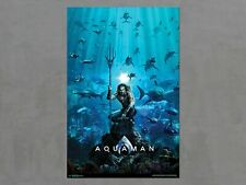 "Aquaman ~ One Sheet Movie Poster ~ Jason Momoa ~ Trends Rp17385 ~ 22"" x 34"" New"