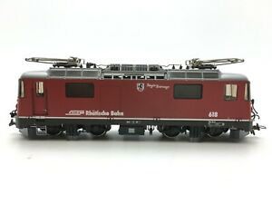 "BEMO 1258/18 H0m Locomotore elettrico Ge 4/4 II 618 ""Berguen"" delle RhB. (DC)"