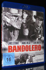 BLU-RAY BANDOLERO - WESTERN mit JAMES STEWART + DEAN MARTIN + RAQUEL WELCH * NEU