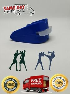 Double Mouth Guard Gum Shield Teeth Protector Boil Bit Football, Boxing, Rugby