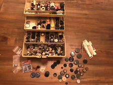Vintage sewing crafting Buttons 6+ lbs collection Plastic all sizes shapes color