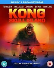 Kong Skull Island Blu-ray 2017 DVD Region 2