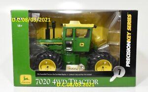 John Deere Precision Key Series 7020 4WD 1/16 MIB Excellent Box L@@K!
