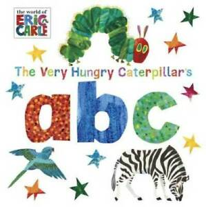 The Very Hungry Caterpillar's ABC (The World of Eric Carle) - Board book - GOOD