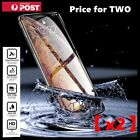 2X Tempered Glass Screen Protector For iPhone 13 12 11 Pro Max 7 8 PLUS X XR XS  <br/> 【9H Hardness】【Price for TWO】【Scratch Resist】【3D / HD】