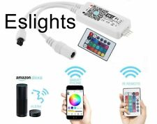 WIFI RGB LED STRIP LIGHT WIRELESS REMOTE SMART CONTROLLER iOS iPhone Android