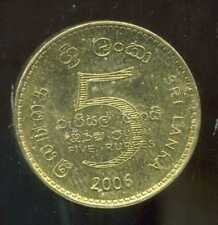 SRI LANKA  5 rupee  2006