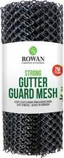 New! Mesh Gutter guard Wire Net Cover Drain Leaf Debris Clog Protection 2M