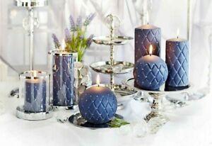 Purple Pillar Candle Candles Tea Lights For Sale Ebay