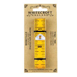 Whitecroft Heritage Soft Italian Tape Measure 89351
