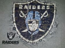 Delta Pro Weight Mens Multi Color Oakland Raiders T Shirt Size XL
