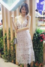 SELF-PORTRAIT Floral Blush Midi Dress Size UK 8, 10, 12,14