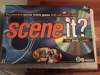 Scene It? The Premiere Movie Trivia DVD Board Game. VGC