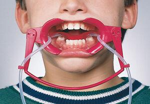 1 X Sino Dental Oral Dry Field System Nola Retractor Lip Cheek Retractors Red