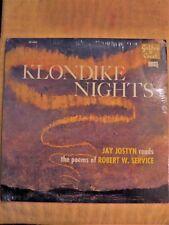 """""""STILL SEALED"""" VINYL LP / KLONDIKE NIGHTS / JAY JOSTYN reads ROBERT W. SERVICE"""
