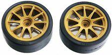 Tamiya 51219 (SP1219) Drift Tires Type D and Wheels (for all Touring Cars)