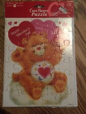Care Bears Greeting Card Puzzle, American Greetings, Unopened Package, Valentine