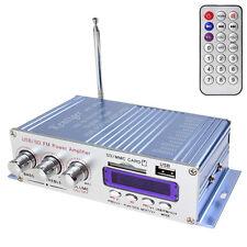 12V USB SD DVD FM Vehicle Stereo Radio MP3 Car Mini HiFi Digital Power Amplifier