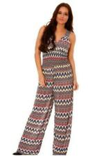 One Size Printed Jumpsuit