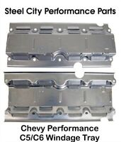 Chevy Performance C5/C6 Corvette Oil Pan Windage Tray/Deflector - 12558189