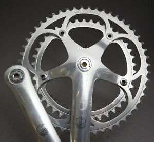 Campagnolo C Record Crank Set / 170 mm / 8 Sp /  52 / 42 AS / [41] 1988 / 693g