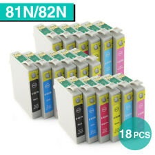 18x Ink Cartridges for Epson 81N 82N Artisan 1430 635 725 730 835 837 NonOEM