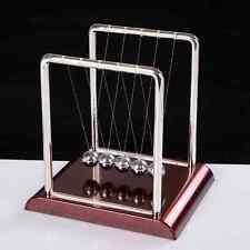 1*Newton's Cradle Fun Steel Balance Ball Physics Science Pendulum Kids Desk Toys