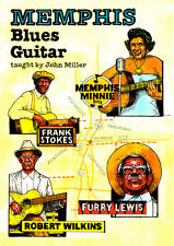 MEMPHIS BLUES GUITAR Video DVD Lessons With John Miller including TABS and Music