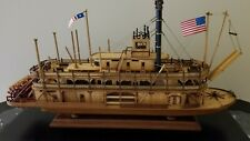 Wooden ship model the King of the Mississippi