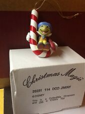 Disney's DCO JIMINY From Pinocchio Grolier Christmas Magic Ornament