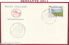 ITALIA FDC CAVALLINO SALVARE LA NATURA LAGO TRASIMENO 1987 TUORO SUL PG Z747