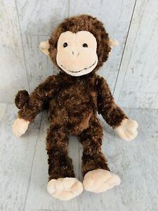 "12"" Gund Brown Swingsley Monkey Plush 031119 Stuffed Animal DAMAGED"
