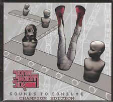 SONIC BOOM SIX -SOUNDS TO CONSUME - (sealed digipak cd) - MOON DPLX 082
