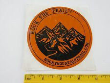 Cool STICKER >> ROCKY MOUNTAIN TRAIL >> Online Clothing, Camping, Outdoor STORE