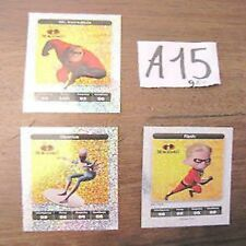 3 Figurine Esselunga Disney Pixar The Incredibles A15