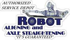 GRAFTON WISCONSIN 1952 POWER PRODUCTS Vintage Look Replica Metal Sign ROBOT