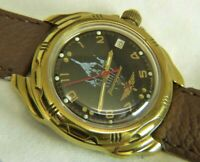 Vostok Wostok Komandirskie commander mechanical Watch 17 jewels 2414A caliber