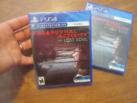 Paranormal Activity: The Lost Soul PS4 PlayStation VR GAME NEW FACTORY SEALED