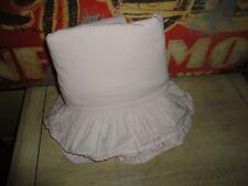 Simply Shabby Chic Ruffled Pink Ruffled Twin Flat Sheet 62 X 90