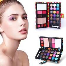 Portable Makeup Eyeshadow Pallete Glitter Powder Primer Luminous Eye Shadow A