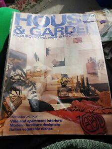 Vintage House And Garden Magazine June 1981
