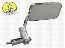 CHROME BAR END MIRROR IDEAL FOR CHOPPER BOBBER CUSTOM CLASSIC MOTORCYCLES