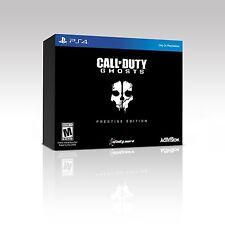 New! Call of Duty: Ghosts [Prestige Edition] (PlayStation 4, 2013)