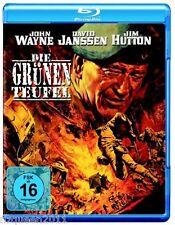 Die grünen Teufel [Blu-ray] John Wayne, Jim Hutton, David Janssen * NEU & OVP *